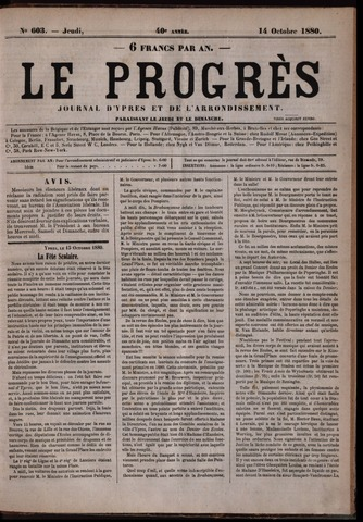 Le Progrès (1841-1914) 1880-10-14