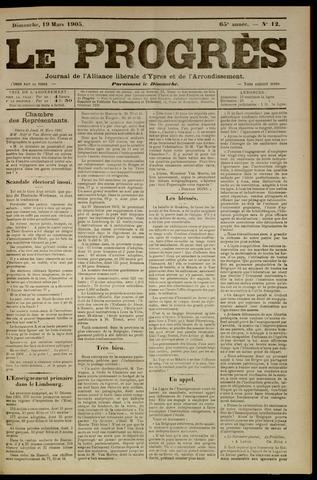 Le Progrès (1841-1914) 1905-03-19