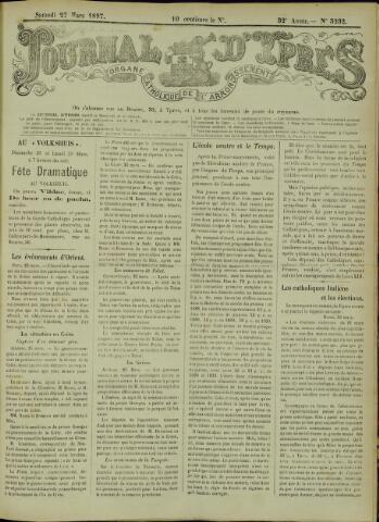 Journal d'Ypres (1874 - 1913) 1897-03-27