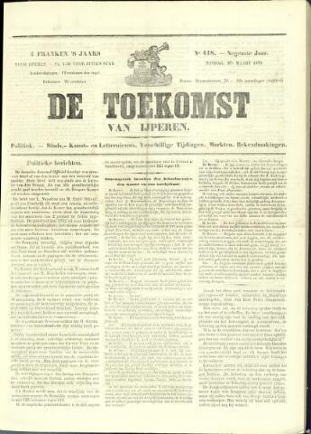De Toekomst (1862 - 1894) 1870-03-27