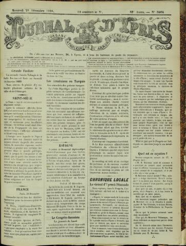 Journal d'Ypres (1874 - 1913) 1898-12-28