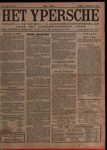 Het Ypersch nieuws (1929-1971) 1944-09-01