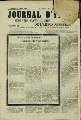 Journal d'Ypres (1874 - 1913) 1906-10-26