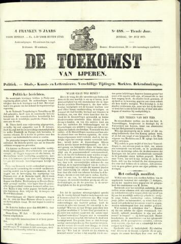 De Toekomst (1862 - 1894) 1871-07-30