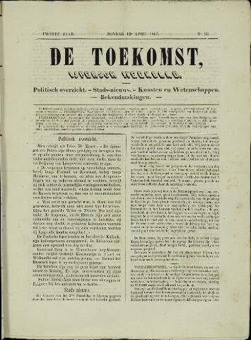 De Toekomst (1862 - 1894) 1863-04-12