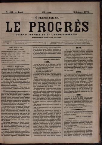 Le Progrès (1841-1914) 1879-10-09