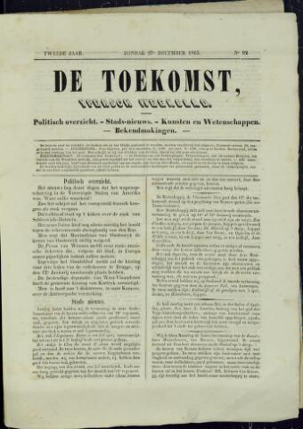 De Toekomst (1862 - 1894) 1863-12-27