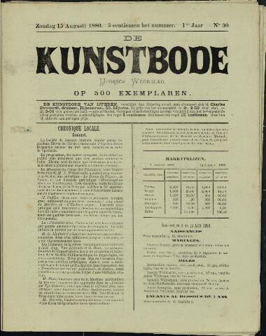 De Kunstbode (1880 - 1883) 1880-08-15