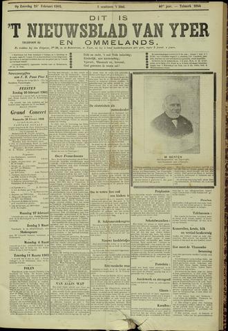 Nieuwsblad van Yperen en van het Arrondissement (1872 - 1912) 1905-02-25