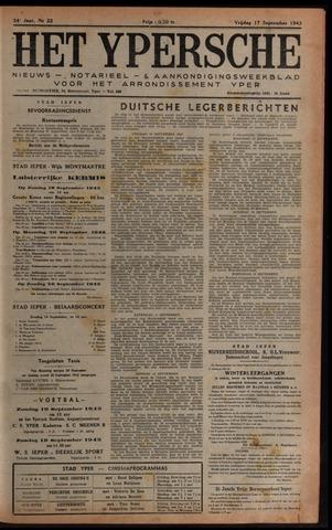 Het Ypersch nieuws (1929-1971) 1943-09-17