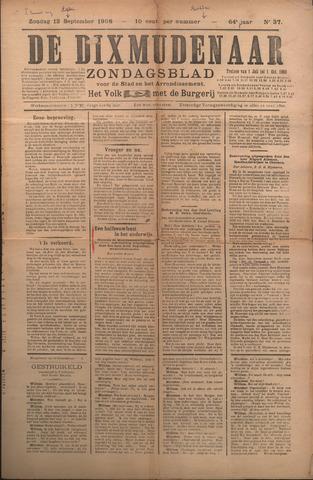 De Dixmudenaar 1908-09-13