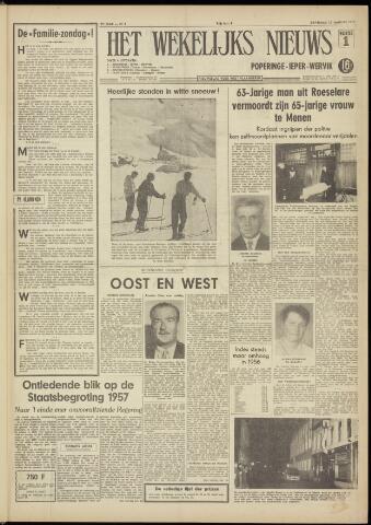 Het Wekelijks Nieuws (1946-1990) 1957-01-12