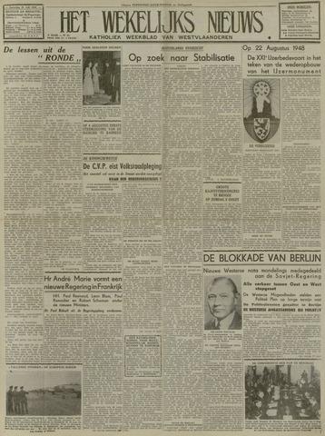 Het Wekelijks Nieuws (1946-1990) 1948-07-31
