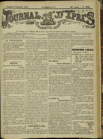 Journal d'Ypres (1874 - 1913) 1897-11-06