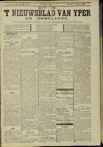 Nieuwsblad van Yperen en van het Arrondissement (1872 - 1912) 1899-12-23