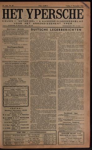 Het Ypersch nieuws (1929-1971) 1943-11-05