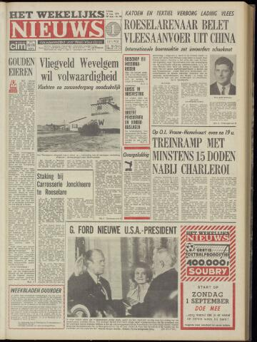 Het Wekelijks Nieuws (1946-1990) 1974-08-16