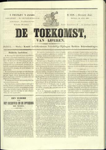De Toekomst (1862 - 1894) 1868-04-26