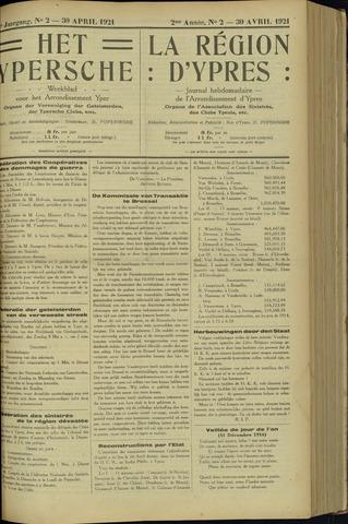 Het Ypersche (1925 - 1929) 1921-04-30