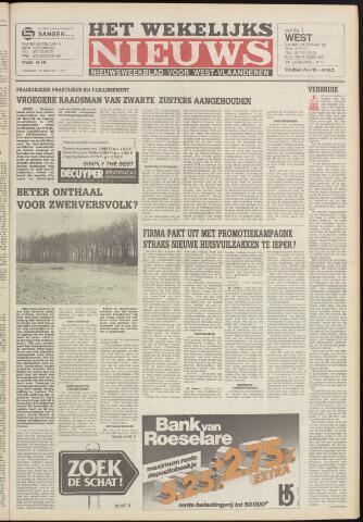 Het Wekelijks Nieuws (1946-1990) 1985-03-29