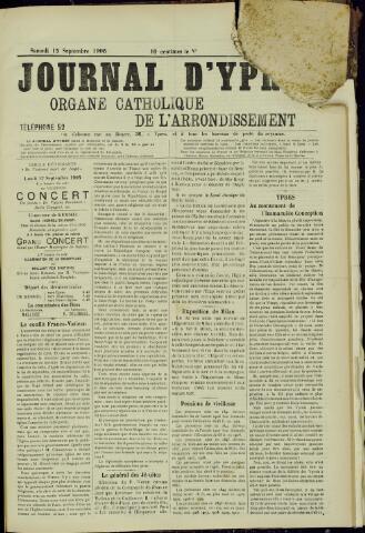 Journal d'Ypres (1874 - 1913) 1906-09-15