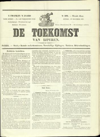 De Toekomst (1862 - 1894) 1871-11-19