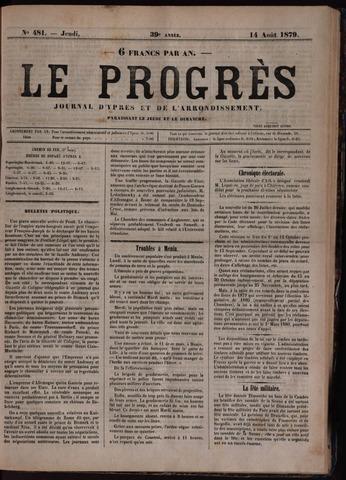 Le Progrès (1841-1914) 1879-08-14