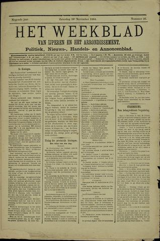 Het weekblad van Ijperen (1886 - 1906) 1894-11-10
