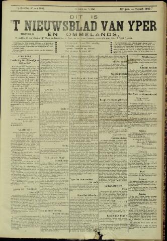 Nieuwsblad van Yperen en van het Arrondissement (1872 - 1912) 1905-07-08
