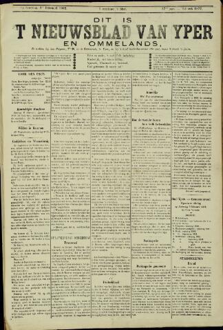 Nieuwsblad van Yperen en van het Arrondissement (1872 - 1912) 1902-02-01