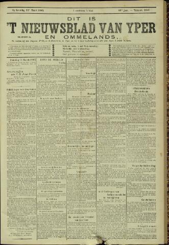 Nieuwsblad van Yperen en van het Arrondissement (1872 - 1912) 1905-03-11