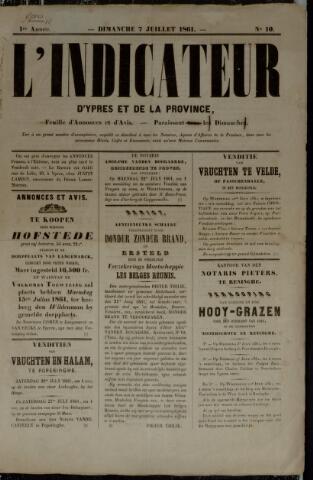 L'Indicateur (1861) 1861