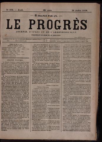 Le Progrès (1841-1914) 1879-07-24