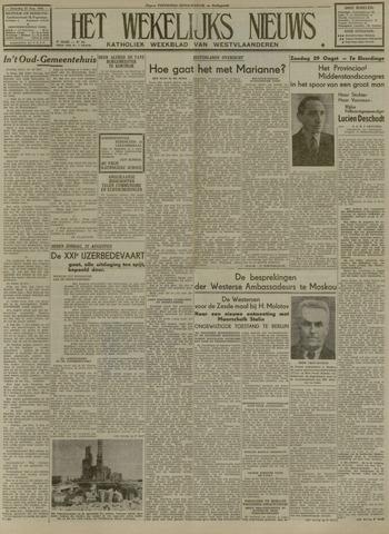 Het Wekelijks Nieuws (1946-1990) 1948-08-21