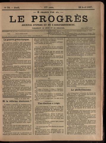 Le Progrès (1841-1914) 1897-04-22
