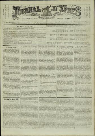 Journal d'Ypres (1874 - 1913) 1877-10-27