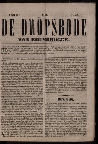 De Dorpsbode van Rousbrugge (1856-1857 en 1860-1862) 1857-06-02