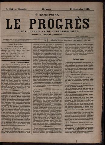 Le Progrès (1841-1914) 1879-09-14