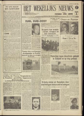 Het Wekelijks Nieuws (1946-1990) 1956-04-14