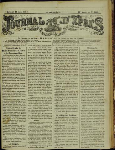 Journal d'Ypres (1874 - 1913) 1897-08-11