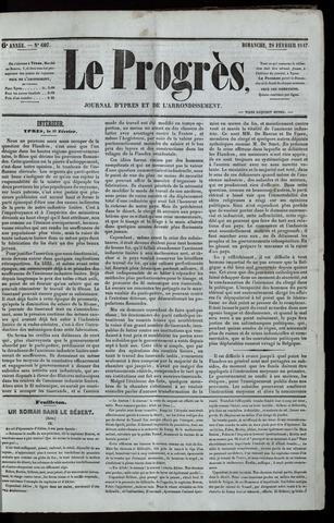 Le Progrès (1841-1914) 1847-02-28