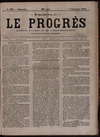 Le Progrès (1841-1914) 1879-09-07