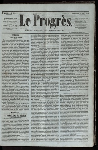 Le Progrès (1841-1914) 1847-08-01