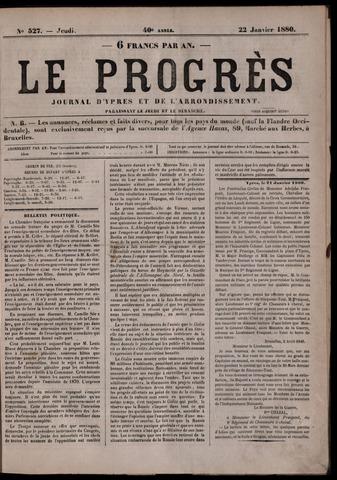 Le Progrès (1841-1914) 1880-01-22