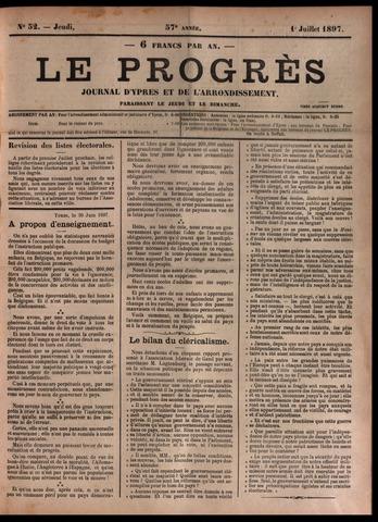 Le Progrès (1841-1914) 1897-07-01