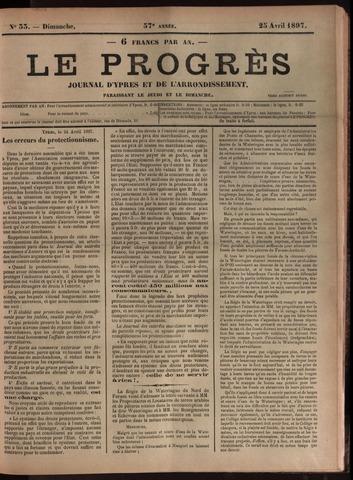 Le Progrès (1841-1914) 1897-04-25