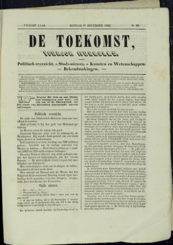 De Toekomst (1862 - 1894) 1863-12-06