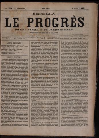 Le Progrès (1841-1914) 1879-08-03