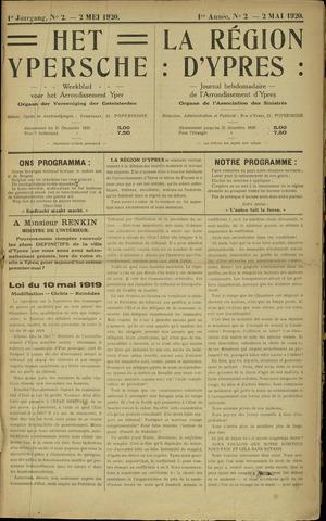 Het Ypersche (1925 - 1929) 1920-05-02