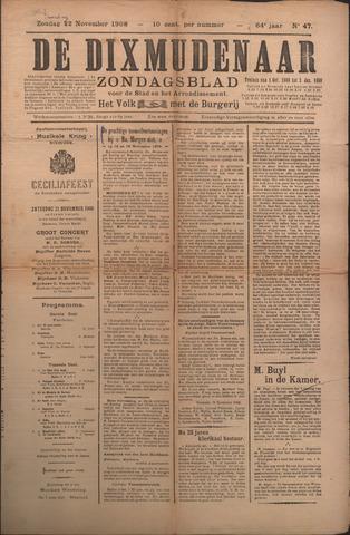 De Dixmudenaar 1908-10-22
